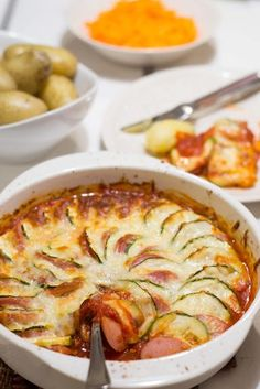 Egg Recipes, Wine Recipes, Cooking Recipes, My Favorite Food, Favorite Recipes, Yams, Ratatouille, Stew, Macaroni And Cheese