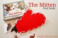 The Mitten Unit Study Mother Goose Time, Kids Reading, My Childhood, Mittens, My Books, Have Fun, Study, The Unit, Simple