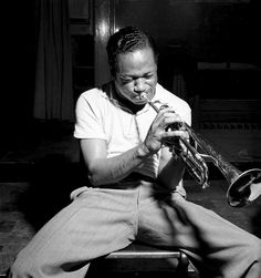 Clifford Brown. Jazz Photography by Francis Wolff.