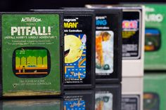 Classic Collection /by giantmike #flickr #ATARI #retro #video #game #cartridge