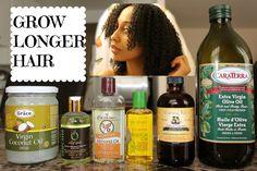 DIY Hair Growth Oil for LONGER, STRONGER Hair!
