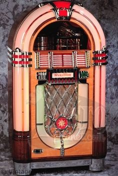 This would be nice in my living room!    http://www.vintagevending.com/wp-content/uploads/2008/10/1946_wurlitzer_1015.jpg
