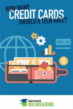 How many credit cards should your teen have?