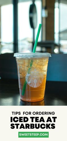 All about Starbucks Iced Tea drinks including what's on the menu and how to customize your iced tea or iced tea lemonade order. #starbucks #icedtea #drinks #orders #best #lemonade Lemonade Menu, Iced Tea Lemonade, Starbucks Tea, How To Order Starbucks, Tea Drinks, Latte Recipe, Tea Latte, Brewing Tea, Tea Blends