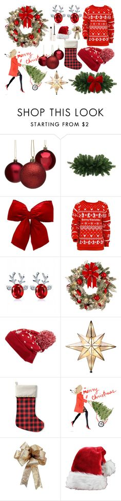 """""""Random Christmas"""" by icy-frappe ❤ liked on Polyvore featuring Disney, Improvements, Collection XIIX, GE, Kavka and By Terry"""