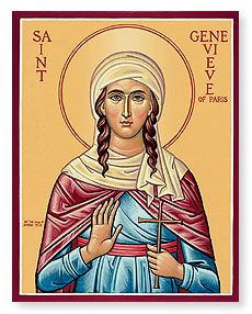 Saint Genevieve: Patron Saint against Disasters, Drought