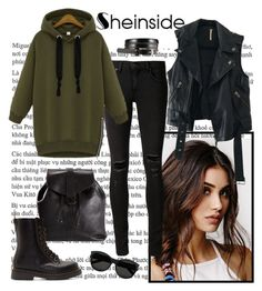 """""""Sheinside"""" by istrijana ❤ liked on Polyvore featuring moda, With Love From CA, Free People, rag & bone/JEAN, Chanel, Dr. Martens i Yves Saint Laurent"""