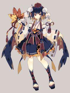 Fantasy Character Design, Character Design Inspiration, Kawaii Anime Girl, Anime Art Girl, Pretty Art, Cute Art, Cute Anime Character, Character Art, Anime Poses