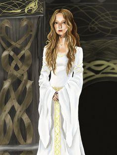 The White Lady of Rohan by DameOdessa on DeviantArt