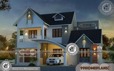 House Design Front Photo Galleries 33 Ideas For 2019 Pool House Plans, Two Story House Plans, Garage House Plans, Craftsman House Plans, New House Plans, Small House Plans, Latest House Designs, New Home Designs, House Front Design