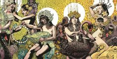 Baroness album Yellow&Green cover by John Dyer Baizley