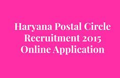 #Govt_Jobs Latest govt. jobs alerts from various indian govt sectors which includes PSU Jobs, Bank Jobs, Defence Jobs, Police Jobs, Teaching Jobs, Railways Jobs and more. Apply Online: http://www.jobreset.com/govt-jobs/haryana-postal-circle-recruitment-21-postal-assistant-posts-2015/1292