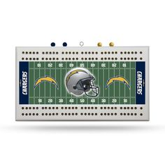 San Diego Chargers Cribbage Game Board