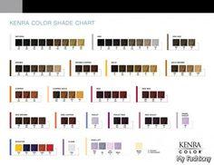 Matrix Hair Color Charts 2015-2016 | MyFashiony