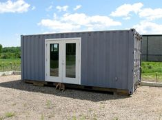 160 Sq Ft Shipping Container Custom Homes - Sustainable Simplicity