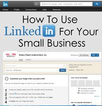 Social Media Tip For Your Small Business Part II: LinkedIn. This blog explores the more serious of the social media networks, and how to get your business involved in it.