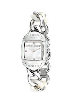 Striebristé hodinky Bubble z Miss Sixty a mnoho ďalších podobných produktov na Fashion Days
