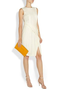 Alexander Wang Twisted textured-crepe dress NET-A-PORTER.COM