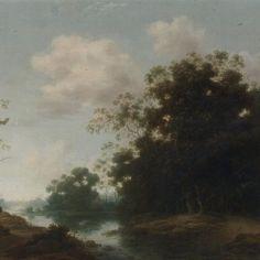 Circle of Jacob van Ruisdael LANDSCAPE WITH TREES