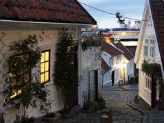 This photo from Rogaland, South is titled 'Gamble Stavanger'. Stavanger Norway, Old Town, Scandinavian, Birth, Germany, Europe, Memories, Country, World