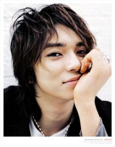 Matsumoto Jun <3 oh he's a real cutie