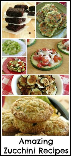 Zucchini Recipes - 25 different ways to use this amazing vegetable!