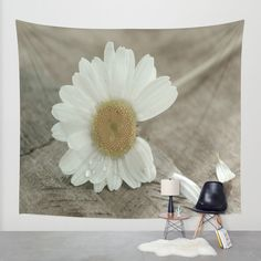He loves me he loves me not .. Wall Tapestry by Tanja Riedel | Society6