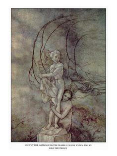 Arthur Rackham's Little Mermaid by Hans Christian Anderson