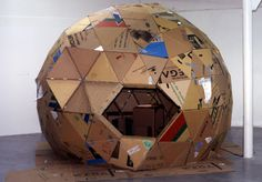 cardboard dome [aesthetic outburst]