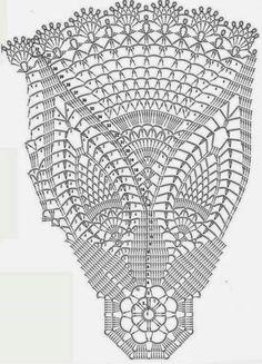 Only Crochet Patterns Archives - Beautiful Crochet Patterns and Knitting Patterns Crochet Tablecloth Pattern, Crochet Doily Diagram, Crochet Circles, Crochet Doily Patterns, Crochet Chart, Thread Crochet, Filet Crochet, Crochet Designs, Knitting Patterns