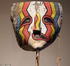Dozens of 'stolen' ancient Native American masks OK'd for sale by French court despite tribal pleas for their return Native American Masks, American Indians, Pablo Picasso, Georges Braque, Hopi Indians, Camouflage, Making Faces, Guy Drawing, African Masks