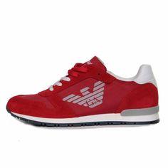 ARMANI JUNIOR - SNEAKER ROSSA JUNIOR Intramontabile sneaker rossa per  bambini e ragazzi firmata Armani Junior 50019ed3711