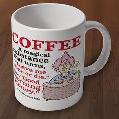 Aunty Acid Coffee Mug from Charlie Bit Me. Buy Aunty Acid Coffee Mug Online now for �7.00 : CharlieBitMe.co.uk