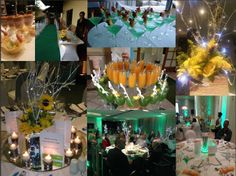 A collage of some of the stylish features we had at one of our road show launch events.