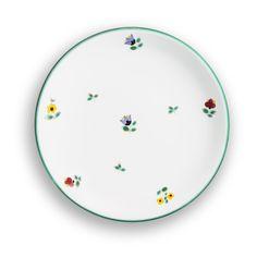 Hier geht's zum Produkt: Streublumen, Dessertteller Cup (Ø 20cm) - handgefertigt seit 1492 Keramik Design, Plates, Tableware, Handmade, Flowers, Licence Plates, Plate, Dinnerware, Dishes