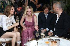 Sofia Coppola, Kirsten Dunst, Thomas Mars and Fabrizio Viti