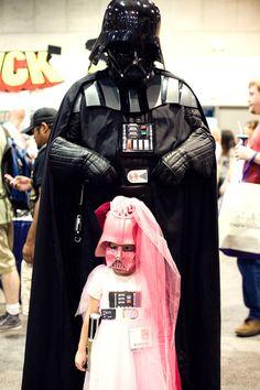 Darth Vader and daughter