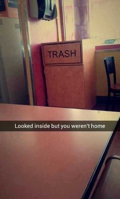 This Snapchat that tells it like it is.   29 Snapchats That Are Too Clever For Their Own Good