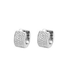 Michael M Diamond Cuff Earrings
