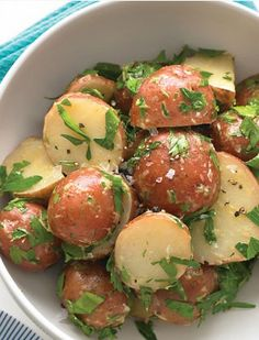 Quick & Easy Dinner Recipes - Dijon Potato Salad - Click Pic for 40 Cheap & Healthy Meals on a Budget
