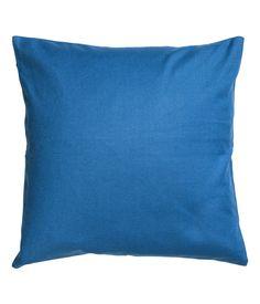 Pudebetræk i bomuldscanvas | Blå | Home | H&M DK