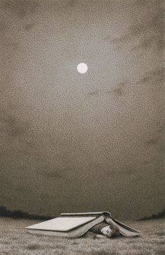 :: I read past my bedtime :: ☆ Book Nights :¦: By Artist Quint Buchholz ☆