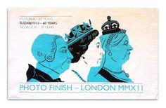 Commemorative tea towel for the Queen's Diamond Jubilee