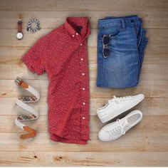Great summer outfit for men. Men Fashion Show, Look Fashion, Mens Fashion, Fashion Outfits, Cool Outfits, Summer Outfits, Casual Outfits, Men Casual, Outfit Grid