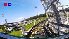 Skyliner 3D front seat on-ride HD POV Lakemont Park