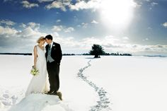 What photography style are you looking for? Make sure to capture the spirit of your wedding with the photographer you choose | Wedding photography | Winter weddings | Weddings in the snow | Kerry Morgan Photography | For more visit www.weddingsite.co.uk