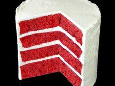 Backen kann Jeder!: Red Velvet Cake – Roter Samtkuchen Rezept