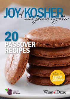 20 Passover Recipes Plus a Seder Checklist #WinnDixieKosher