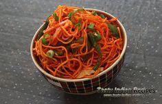 Schezwan Noodles Recipe