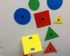 Isot loogiset palat Oppilas tekee kuvion isoilla taululle ja muut tekevät samanlaisen omilla paloillaan. Kuviot on tulostettu Varga Nemenyi - opeoppaasta väripaperille.
